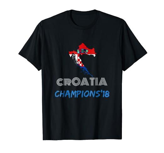 Camiseta de Croacia 2018 soccer mundial campeones futbol