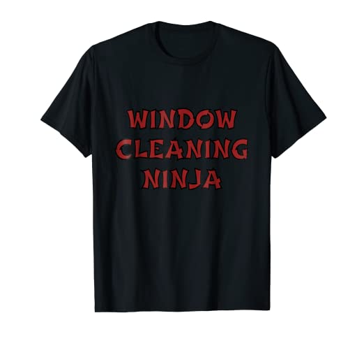 Amazon.com: Funny Window Cleaning Ninja Professional Window ...