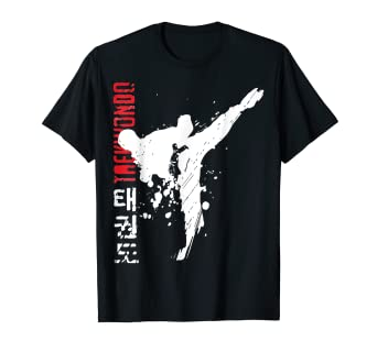 dcd179b8c Image Unavailable. Image not available for. Color: Taekwondo Martial Arts  TShirt