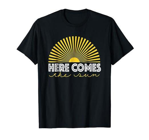 23c80f6327c8 Amazon.com  Here Comes The Sun Shirt