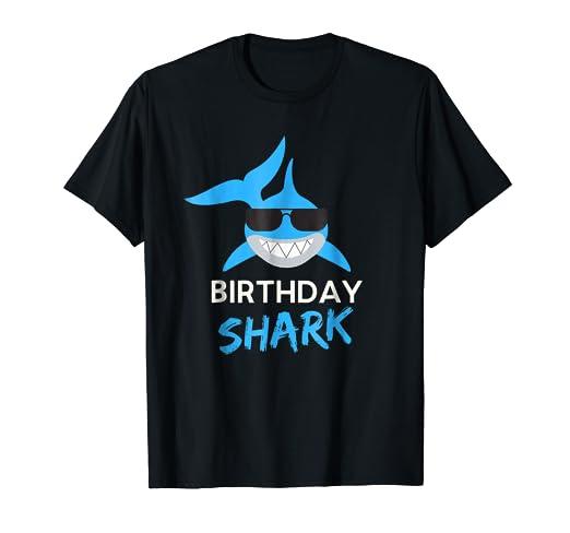 Shark Birthday Boy Shirt For Toddler