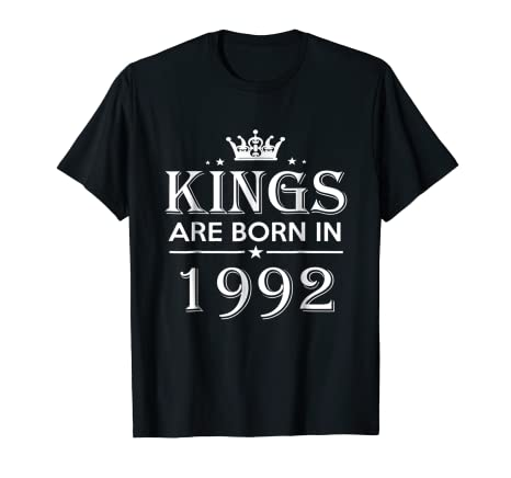 25th Birthday Gifts Idea For Him Men 25 Years Old King Shirt