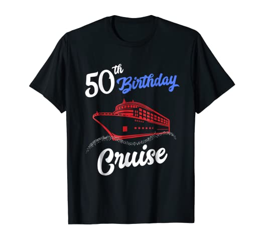 Image Unavailable Not Available For Color 50th Birthday Cruise Shirt Group
