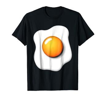 Halloween Shirt Ideas.Amazon Com Funny Fried Egg Shirt Diy Halloween Costume