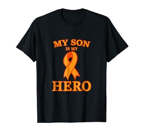 3345ce77 Amazon Com Leukemia Awareness Shirts My Son Is My Hero Support