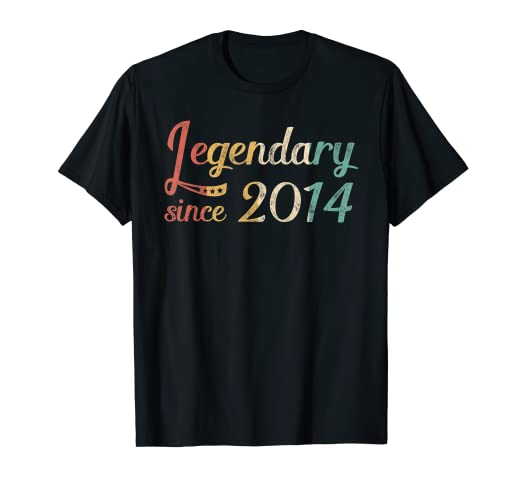 Image Unavailable Not Available For Color Legendary Since 2014 T Shirt 5th Birthday 5 Year Old