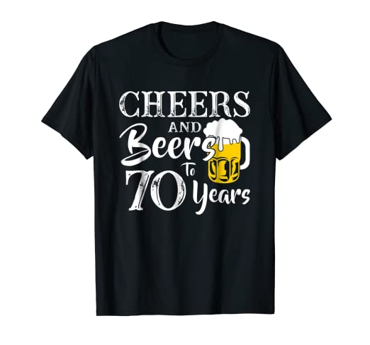 Amazon Cheers And Beers 70 Years Old 70th Birthday Gift 1948