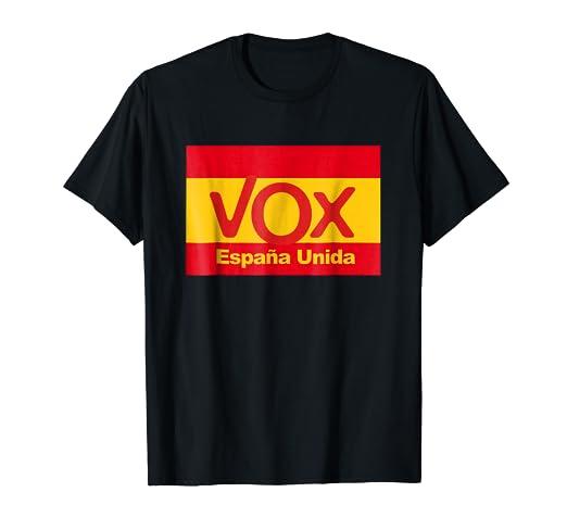 dc86f043af06e Amazon.com  Vox Espana Unida! T-Shirt Camiseta Playera  Clothing