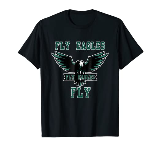 wholesale dealer 532db 05b0b Fly Eagle Fly Eagles Fly T-shirt Eagles Philadelphia Fan