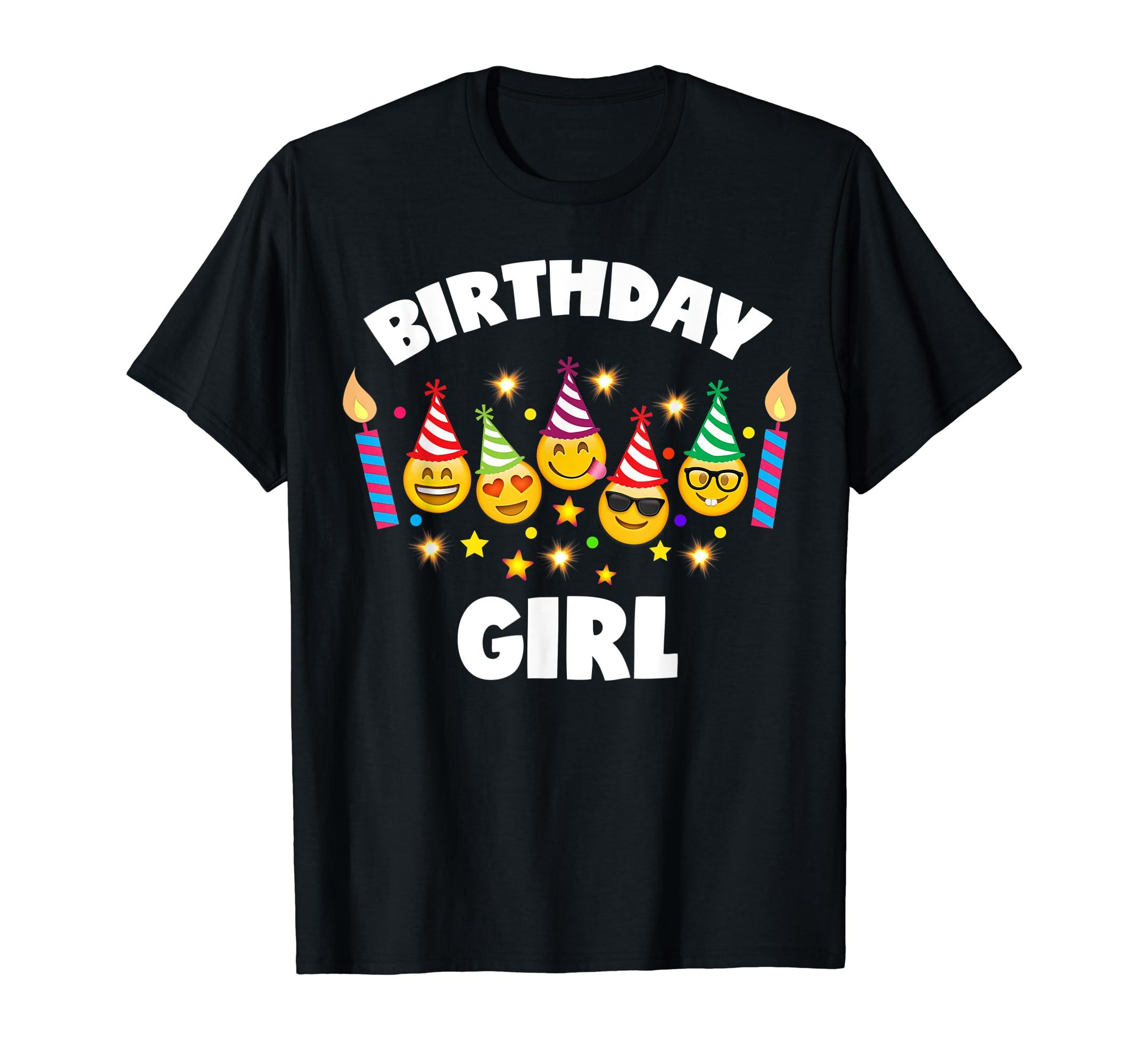 Amazon Emoji Birthday Shirt For Girls Girl Toddlers Clothing