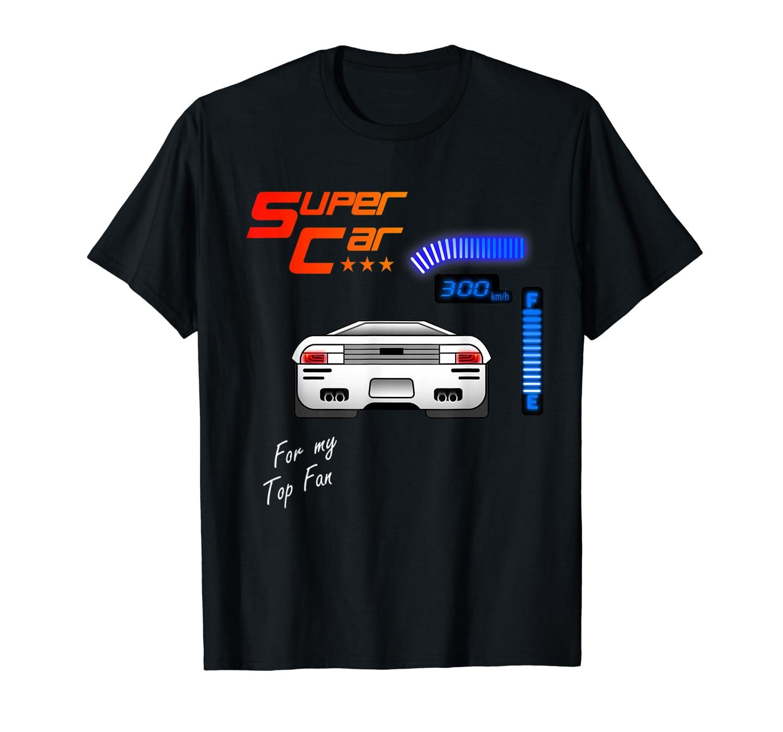 Super Car 500 Miles Gamer T Shirt Funny Gift Race Game