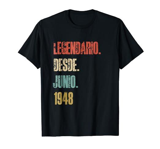 Mens Camiseta de Cumpleanos 70 Anos - Regalo Birthday Retro