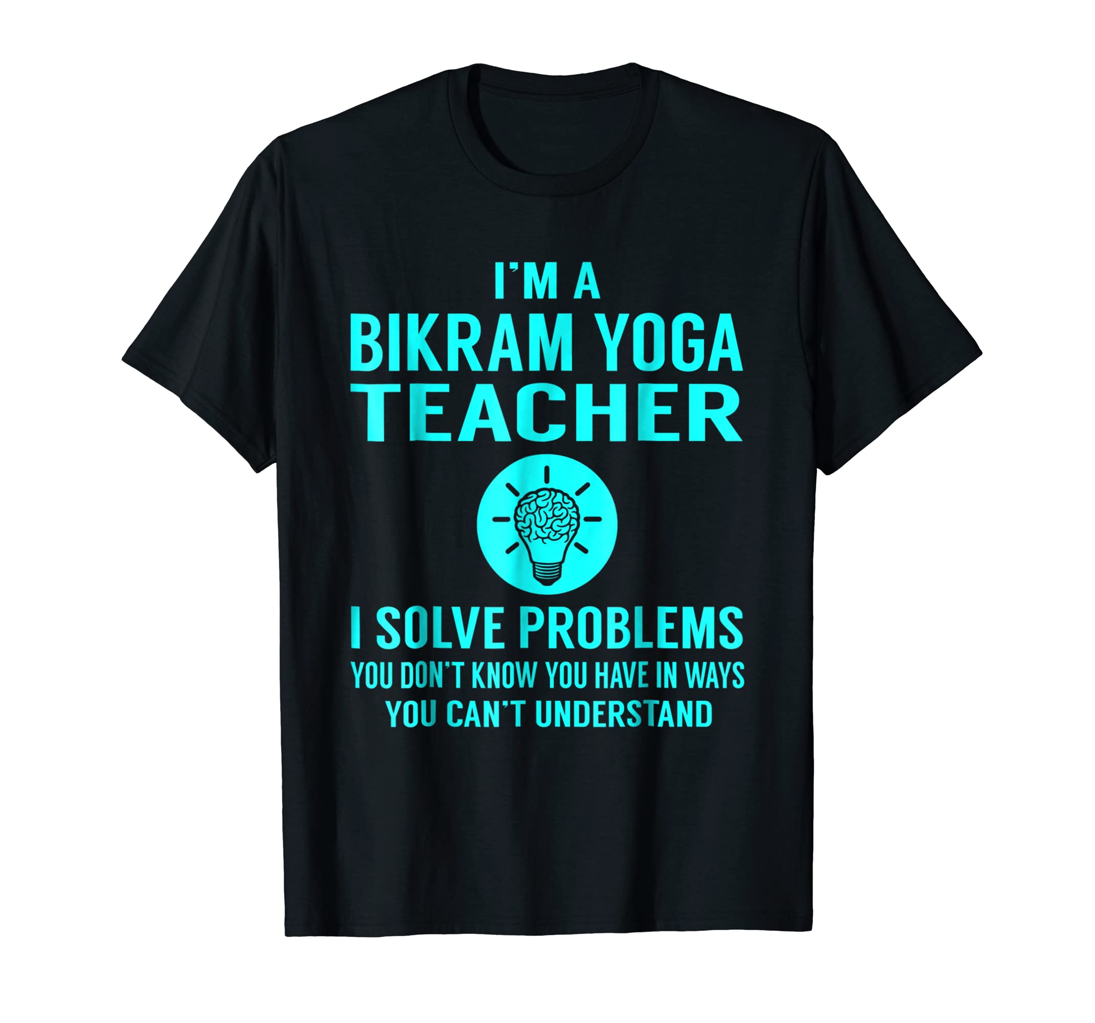 Amazon.com: Bikram Yoga Teacher Solve Problems Job Title ...