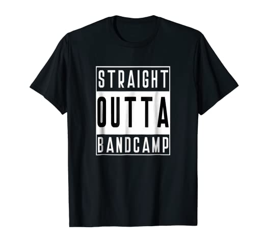 b92867ae4 Image Unavailable. Image not available for. Color: Straight Outta Band Camp  T-Shirt ...