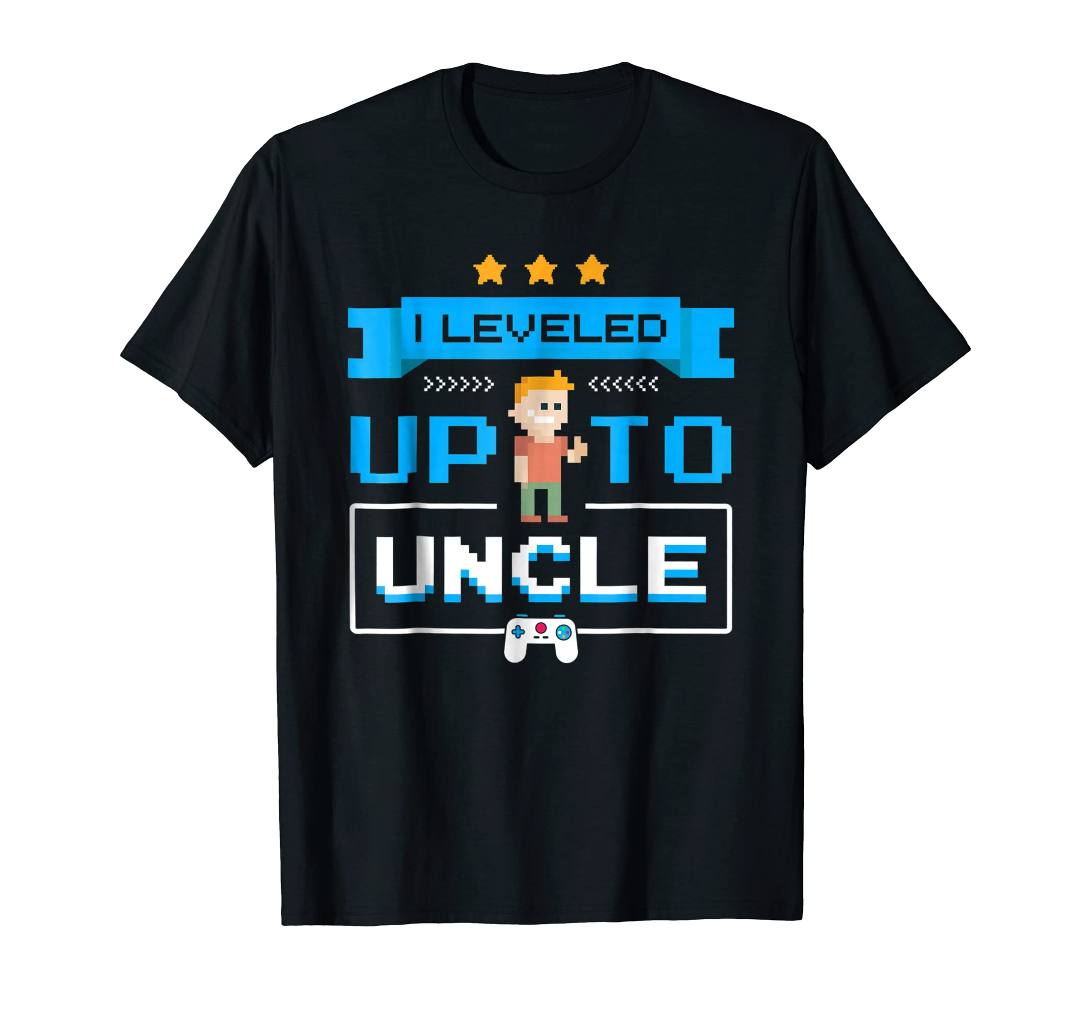 Uncle Gamer Shirt Leveled Up To Uncle Pregnancy Announcement