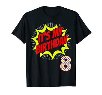 Image Unavailable Not Available For Color Superhero Birthday Shirt