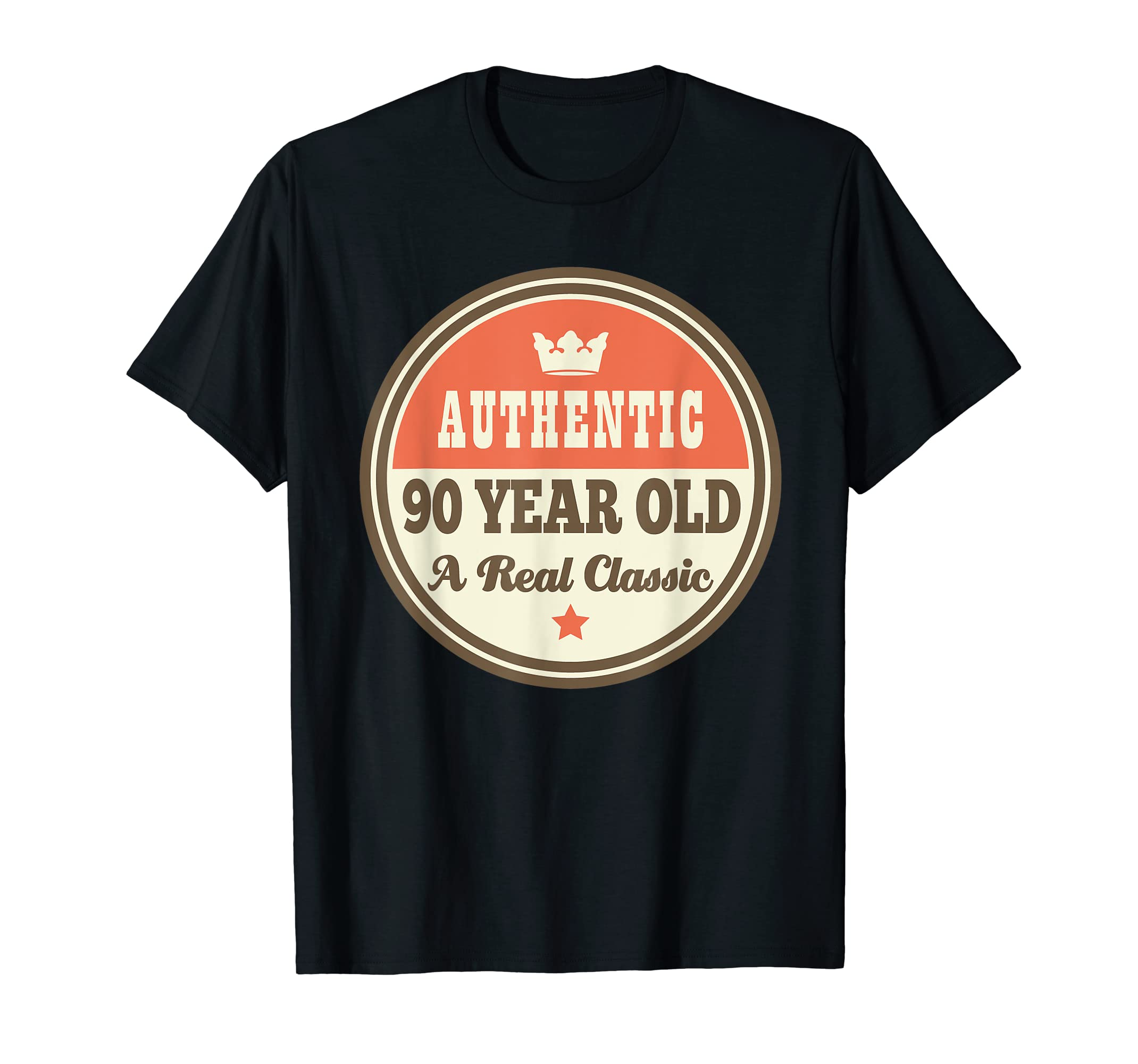 Amazon Funny 90th Birthday Tee Vintage 90 Year Old T Shirt Clothing
