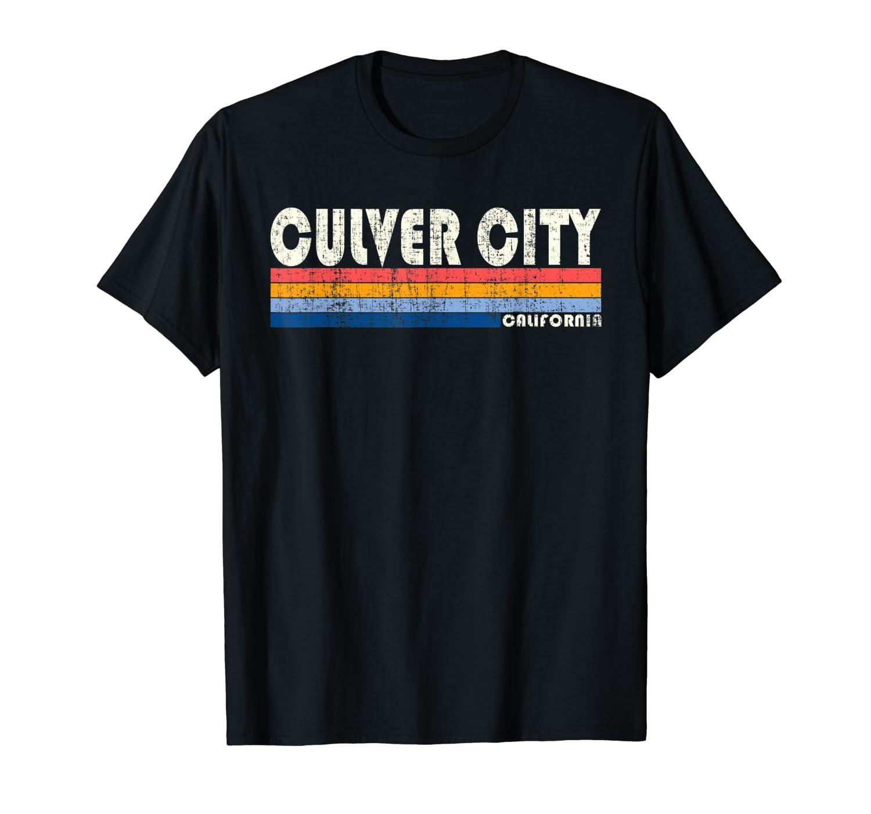Vintage 70s 80s Style Culver City Ca T Shirt