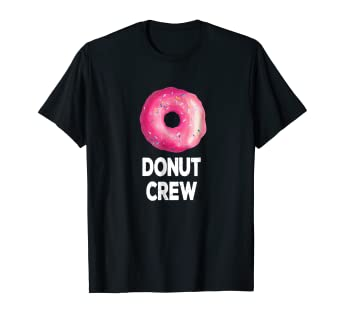 Image Unavailable Not Available For Color Donut Crew Shirt Birthday Party Favors