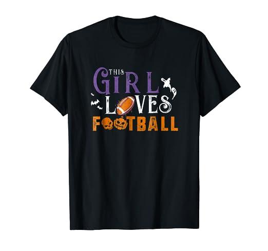 Amazon.com: Football Halloween Costume Shirt Trick Treat ...