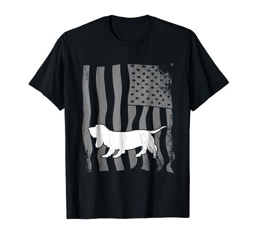 66c2db22c30 Amazon.com: American Basset Hound T-Shirt: Clothing