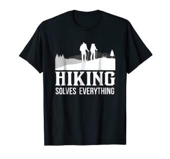 7cff717f Image Unavailable. Image not available for. Color: Funny Hiking T shirt ...
