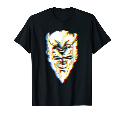 psychedelic devil t shirt trippy halloween costume idea