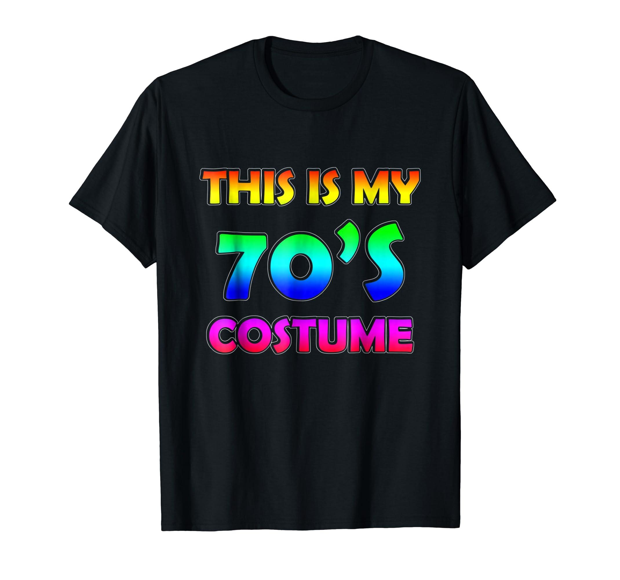70s Costume Halloween Shirt for 1970s Party men women top-mt
