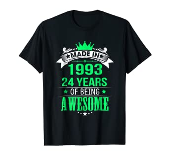Amazon 24th Birthday Shirt Happy Shirts For Men Women