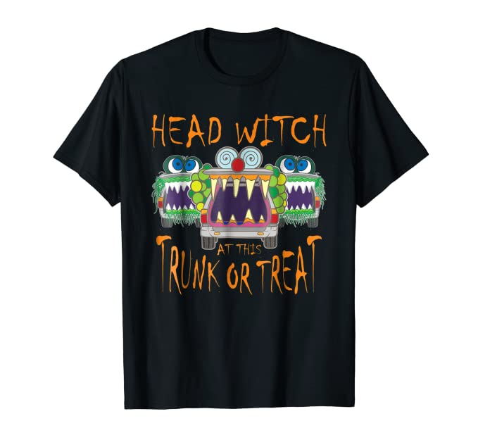 Head Witch at Trunk or Treat TShirt