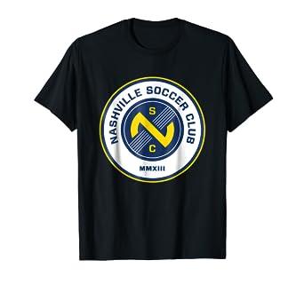 online store c4a21 748d4 Amazon.com: Nashville T Shirt For Men Women Kids Soccer ...