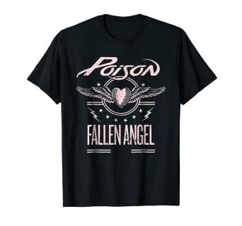614ed11d8 Image Unavailable. Image not available for. Color: Poison - Fallen Angel T- Shirt