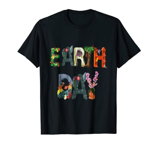 27f74aef Amazon.com: National Earth Day T-Shirt - Earth Day April 22: Clothing