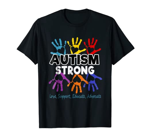 2a4cddb96 Image Unavailable. Image not available for. Color: Autism Awareness T shirt  ...