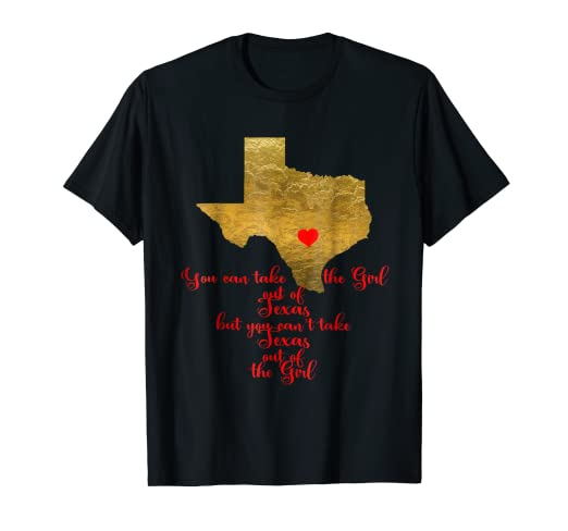 6d38258c Amazon.com: Texas Girls Tshirts, TX Tees, Texas Shirts For Women ...
