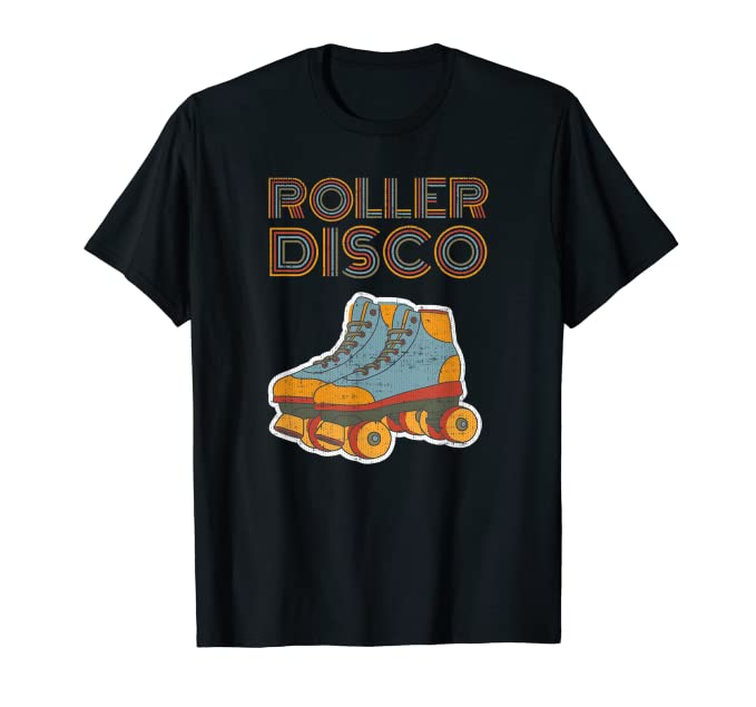 Vintage Shirts – Mens – Retro Shirts Cool Roller Disco Retro party 70s and 80s T-shirt $13.99 AT vintagedancer.com
