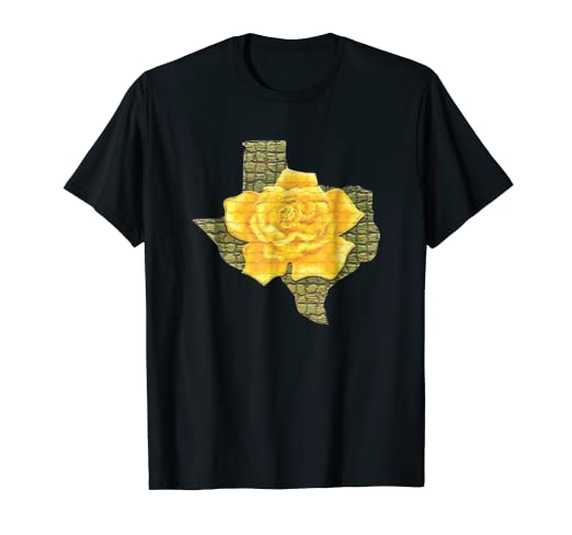 Amazon awesome yellow rose of texas pattern flower t shirt awesome yellow rose of texas pattern flower t shirt mightylinksfo