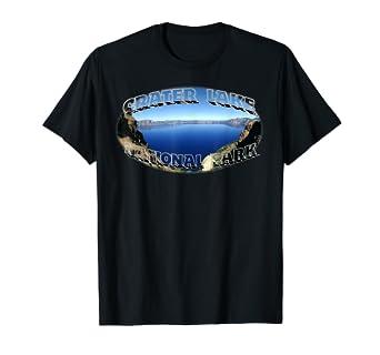 100% authentic f2186 f3d6e Amazon.com: CRATER LAKE NATIONAL PARK T-SHIRT: Clothing