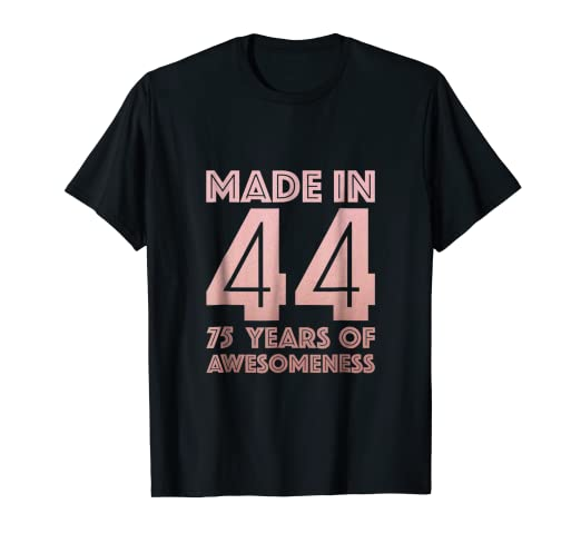 Image Unavailable Not Available For Color 75th Birthday Shirt Grandma Mom 75 Year Old Women Gifts