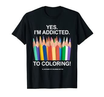 b26d0fa54 Image Unavailable. Image not available for. Color: The Official Coloring  Books T-Shirt