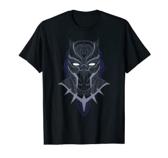 97d5eca2 Image Unavailable. Image not available for. Color: Marvel Black Panther  Paisley Print T-Shirt
