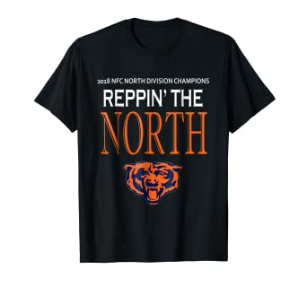 19cfb671135 Image Unavailable. Image not available for. Color: North Champions 2018  Bears T Shirt ...
