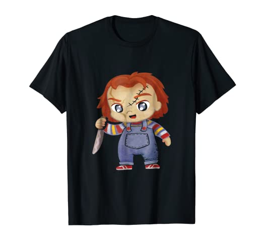 593f653c Image Unavailable. Image not available for. Color: HC Chucky Childs Play  Halloween costume t shirt