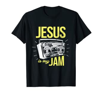 4a0b30a1 Image Unavailable. Image not available for. Color: Jesus is My Jam T-Shirt  Design