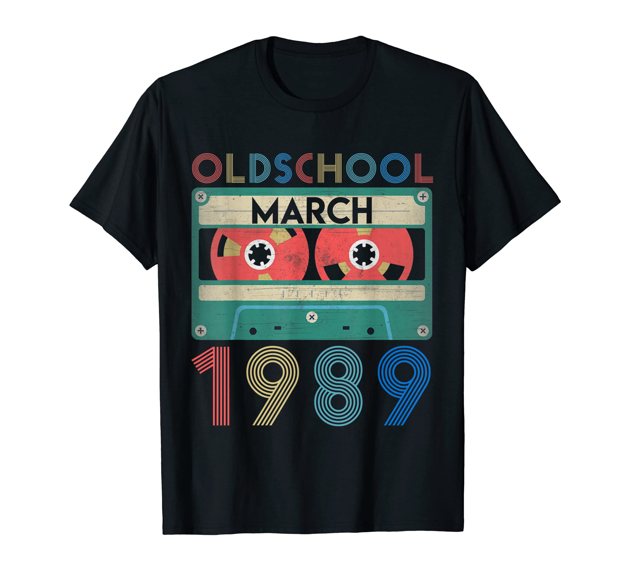 Amazon March Shirts Vintage 30th Birthday Gift Ideas 1989 Shirt Clothing