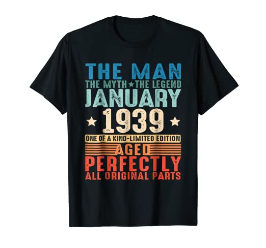 Amazon January 1939 The Man Myth Legend 80th Birthday