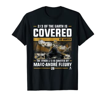 best loved 3851f 9c380 Amazon.com: Marc-Andre Fleury Covered By T-Shirt - Apparel ...