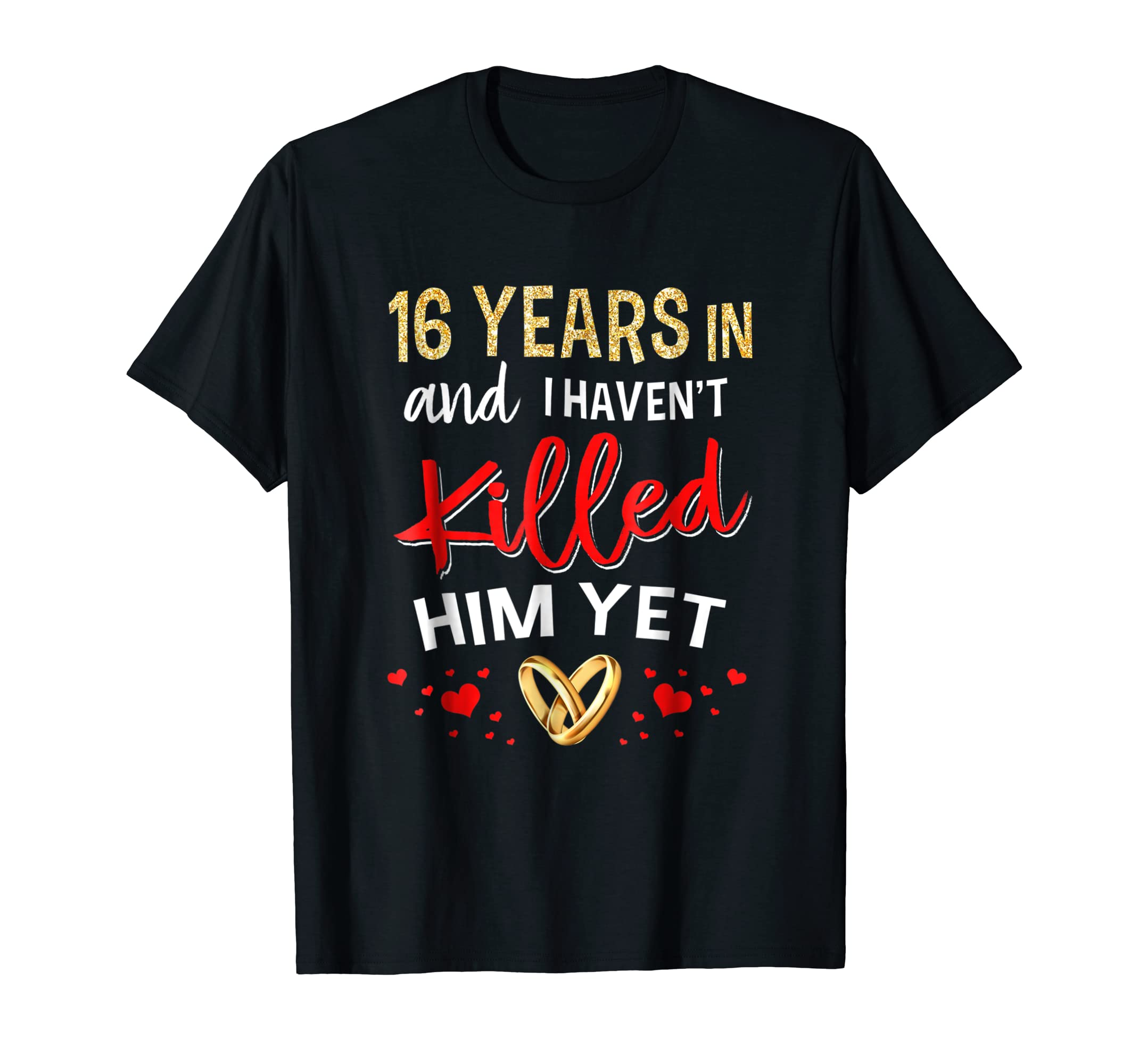 16th Wedding Anniversary Gift Ideas For Her: 16th Wedding Anniversary Gifts For Her Just Married T