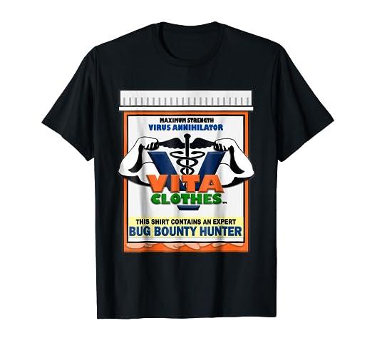 Amazon com: Bug Bounty Hunter T-Shirt: Clothing