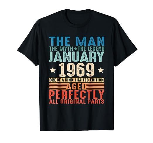 Amazon January 1969 The Man Myth Legend 50th Birthday